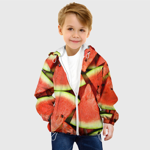Детская куртка 3D  Фото 03, Дольки арбуза