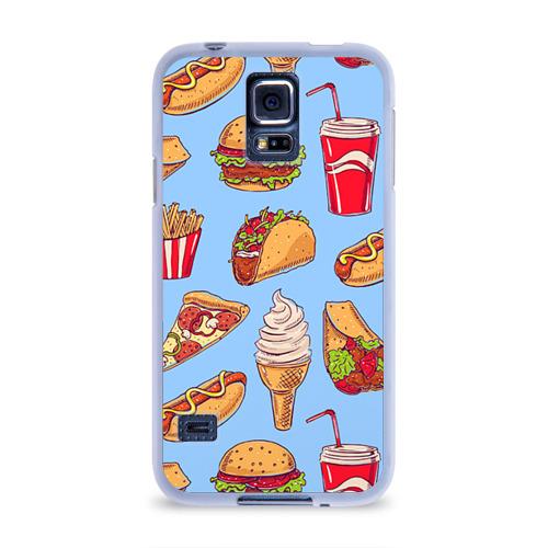 Чехол для Samsung Galaxy S5 силиконовый  Фото 01, Еда