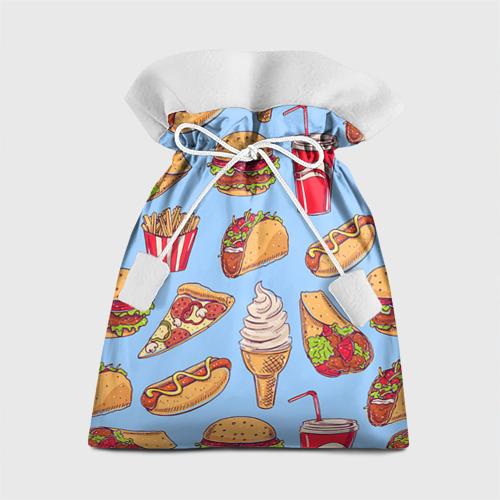 Подарочный 3D мешок Еда