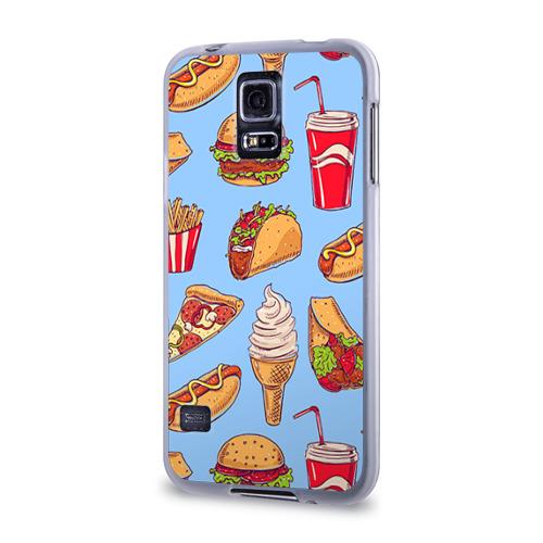 Чехол для Samsung Galaxy S5 силиконовый  Фото 03, Еда