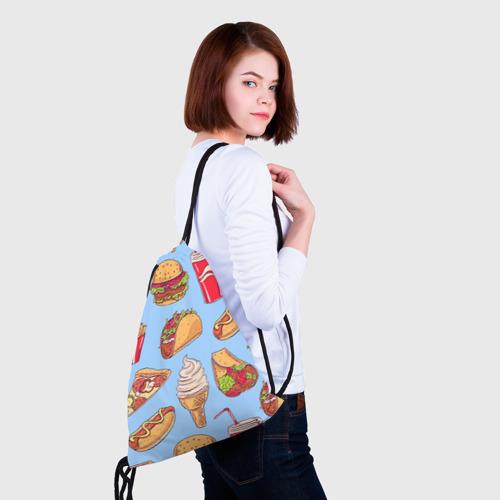 Рюкзак-мешок 3D  Фото 02, Еда