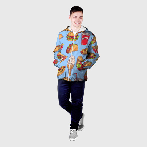 Мужская куртка 3D  Фото 03, Еда