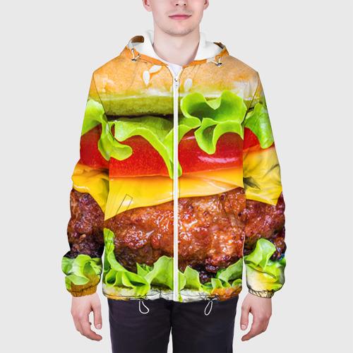 Мужская куртка 3D  Фото 04, Гамбургер