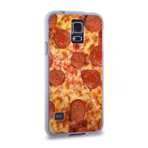 Чехол для Samsung Galaxy S5 силиконовый  Фото 02, Пицца