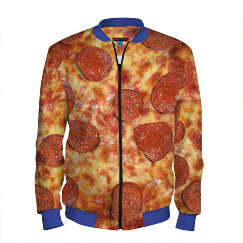 Мужской бомбер 3D Пицца