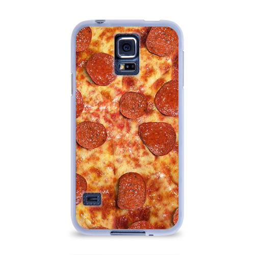 Чехол для Samsung Galaxy S5 силиконовый  Фото 01, Пицца