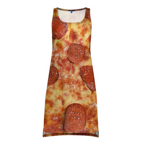 Платье-майка 3D Пицца