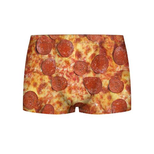 Мужские трусы 3D Пицца Фото 01