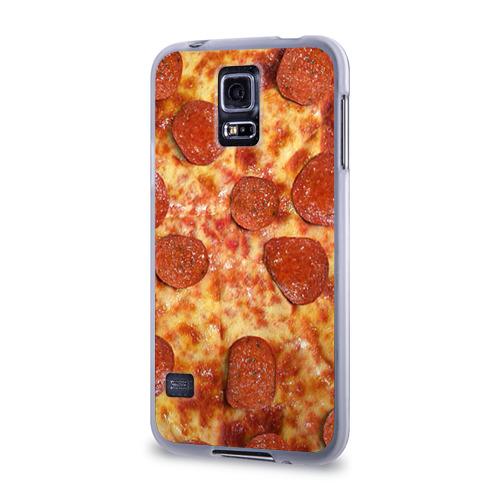 Чехол для Samsung Galaxy S5 силиконовый  Фото 03, Пицца