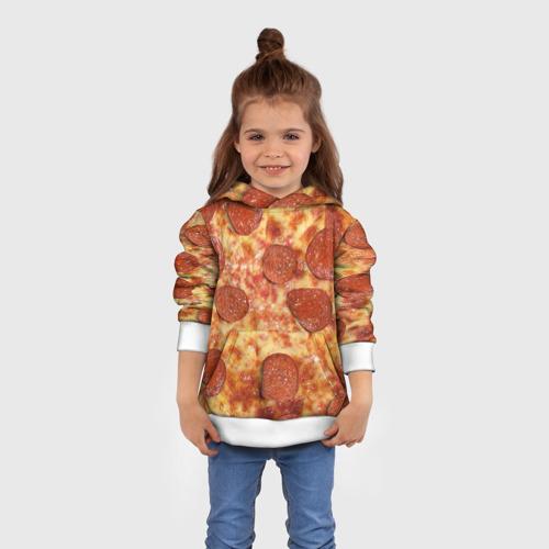 Детская толстовка 3D  Фото 01, Пицца
