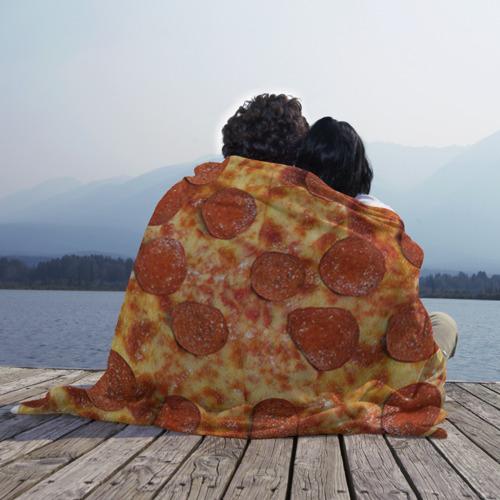 Плед 3D Пицца Фото 01