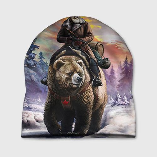 "Шапка 3D ""Медведь"" (3) - 1"