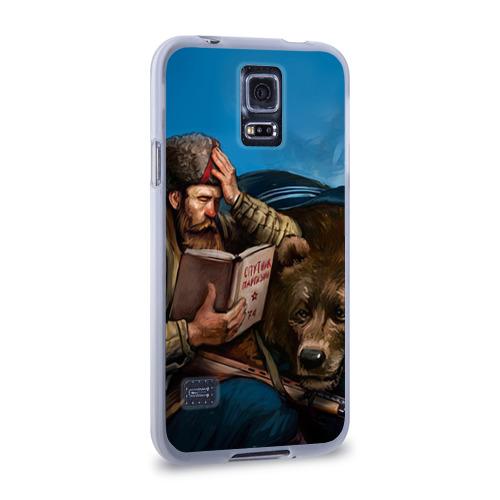 Чехол для Samsung Galaxy S5 силиконовый  Фото 02, Медведь