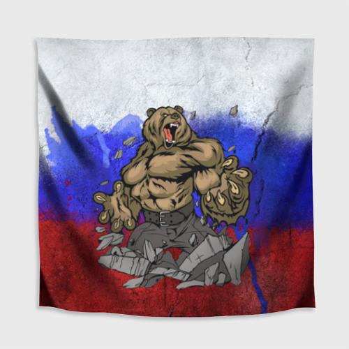 Скатерть 3D Медведь Фото 01