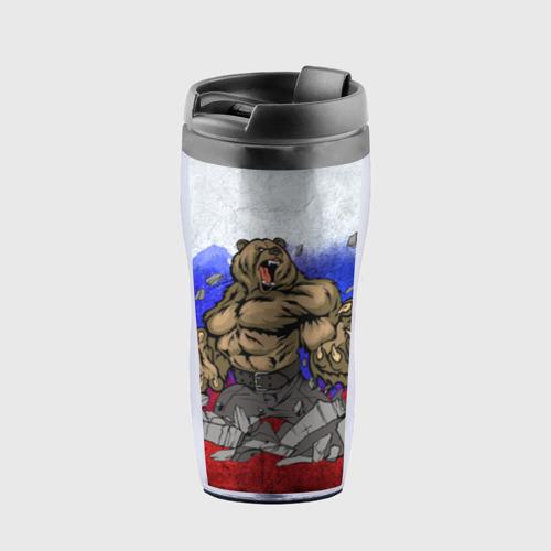 Термокружка-непроливайка Медведь