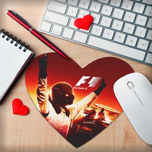 Коврик сердце  Фото 02, Формула 1