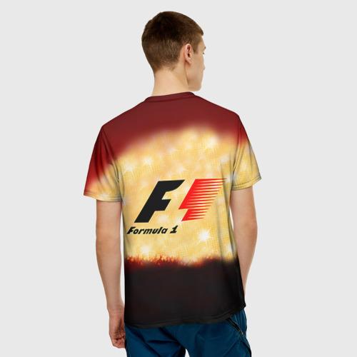Мужская футболка 3D Формула 1 Фото 01