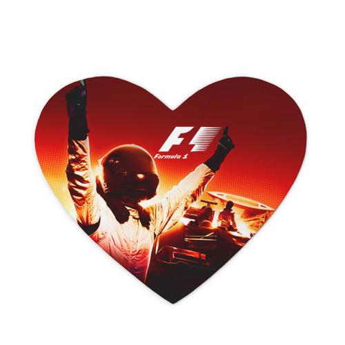 Коврик сердце  Фото 01, Формула 1