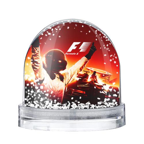 Водяной шар со снегом Формула 1
