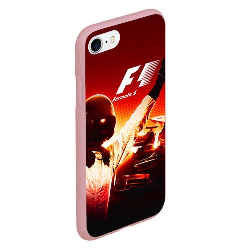 Чехол для iPhone 7/8 матовый Формула 1 Фото 01