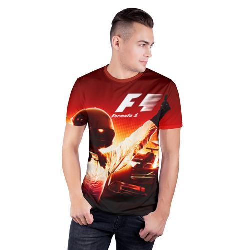 Мужская футболка 3D спортивная Формула 1 Фото 01