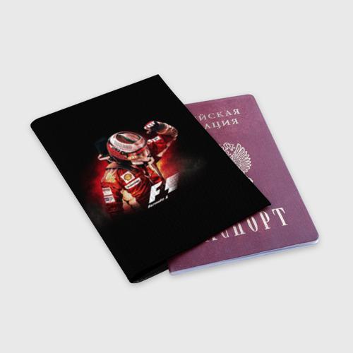 Обложка для паспорта матовая кожа  Фото 03, Формула 1