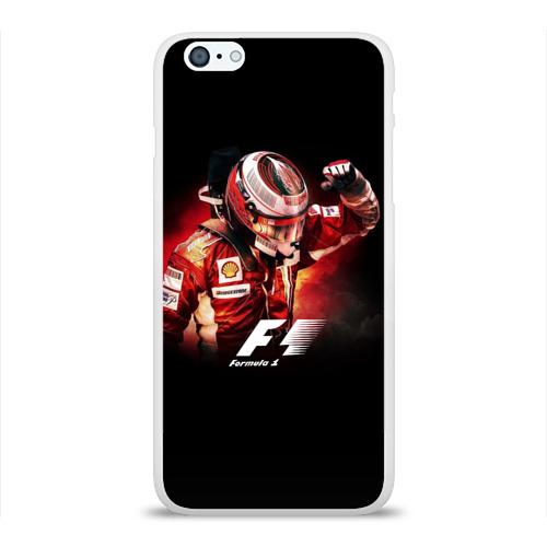 Чехол для Apple iPhone 6Plus/6SPlus силиконовый глянцевый Формула 1 Фото 01