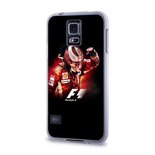 Чехол для Samsung Galaxy S5 силиконовый  Фото 03, Формула 1