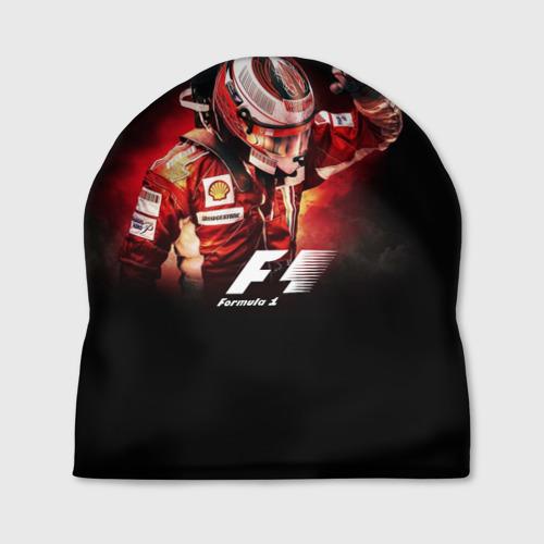 Шапка 3D Формула 1