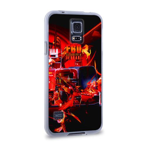 Чехол для Samsung Galaxy S5 силиконовый  Фото 02, Формула 1