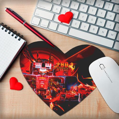 Коврик для мыши сердце  Фото 02, Формула 1
