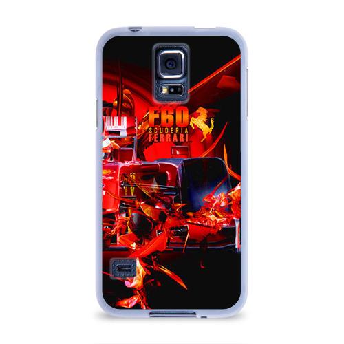 Чехол для Samsung Galaxy S5 силиконовый  Фото 01, Формула 1