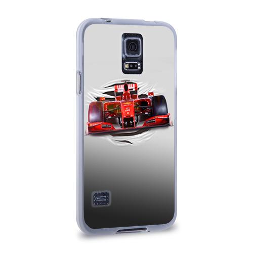 Чехол для Samsung Galaxy S5 силиконовый  Фото 02, Гоночный балид