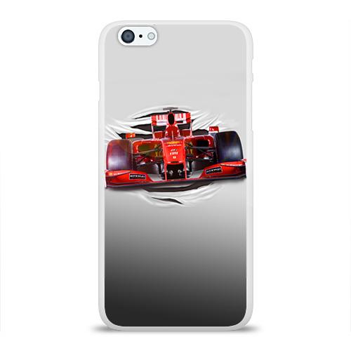 Чехол для Apple iPhone 6Plus/6SPlus силиконовый глянцевый Гоночный балид Фото 01