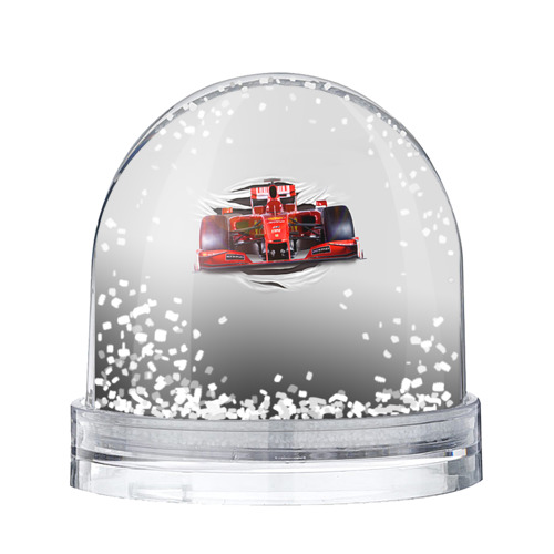 Водяной шар со снегом Гоночный балид