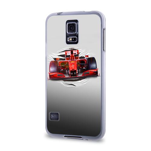 Чехол для Samsung Galaxy S5 силиконовый  Фото 03, Гоночный балид