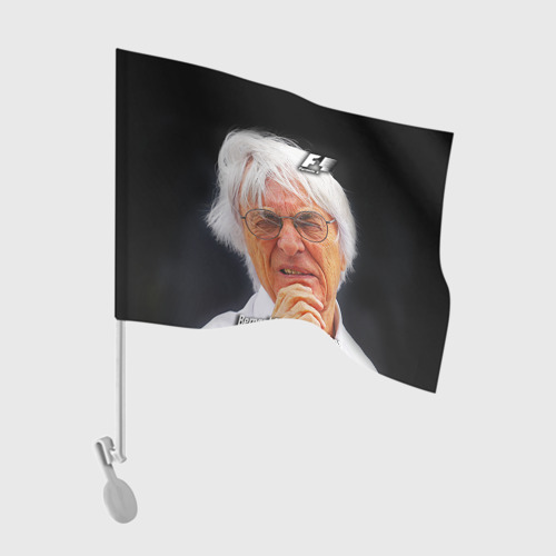 Флаг для автомобиля  Фото 01, Бернард Экклстоун