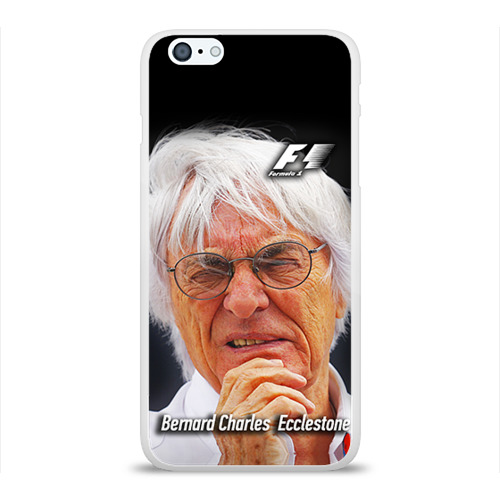 Чехол для Apple iPhone 6Plus/6SPlus силиконовый глянцевый Бернард Экклстоун Фото 01