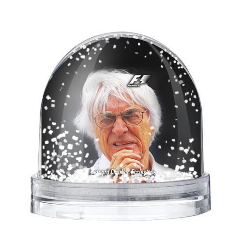 Водяной шар со снегом Бернард Экклстоун