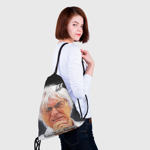 Рюкзак-мешок 3D  Фото 02, Бернард Экклстоун