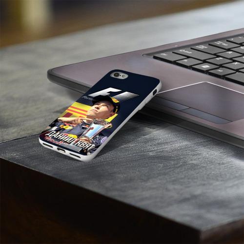 Чехол для Apple iPhone 8 силиконовый глянцевый  Фото 03, Даниил Квят