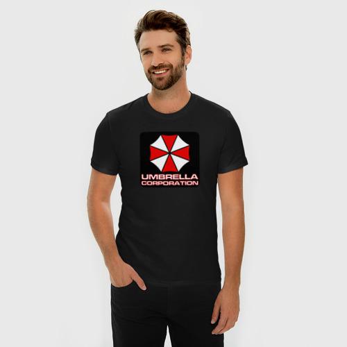 Мужская футболка премиум UMBRELLA Фото 01