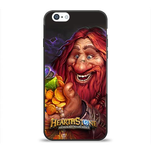 Чехол для Apple iPhone 6 силиконовый глянцевый Hearthstone от Всемайки