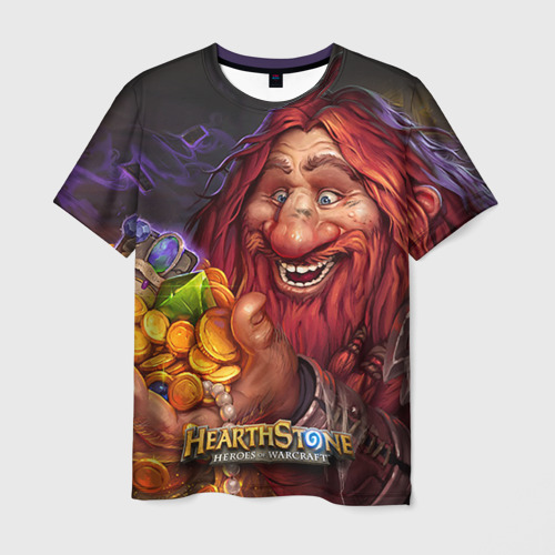 Мужская футболка 3D  Фото 01, Hearthstone