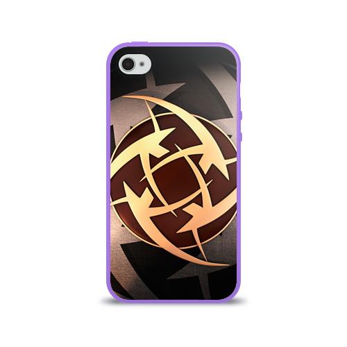 Чехол для Apple iPhone 4/4S силиконовый глянцевый  Фото 01, Ninjas In Pyjamas