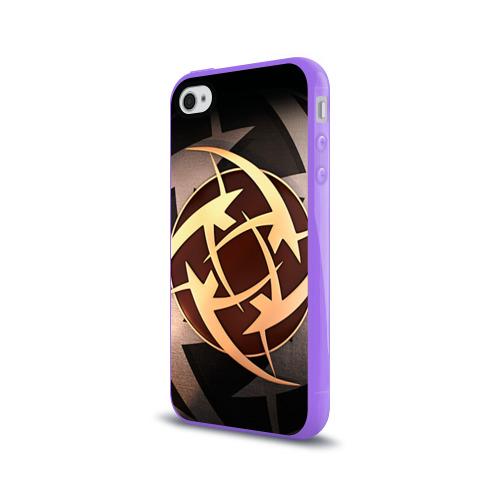 Чехол для Apple iPhone 4/4S силиконовый глянцевый  Фото 03, Ninjas In Pyjamas