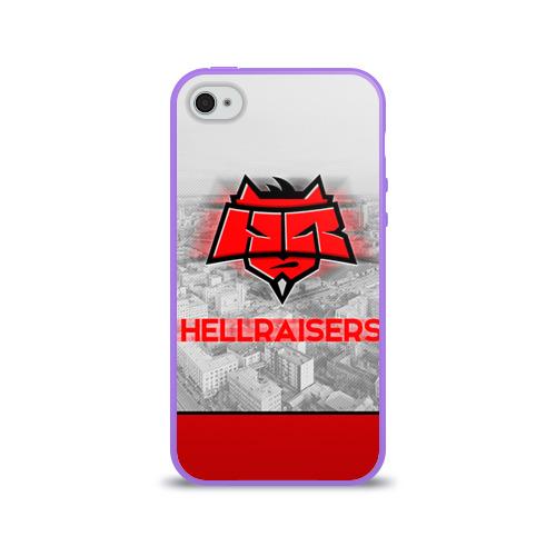 Чехол для Apple iPhone 4/4S силиконовый глянцевый  Фото 01, Hellraisers