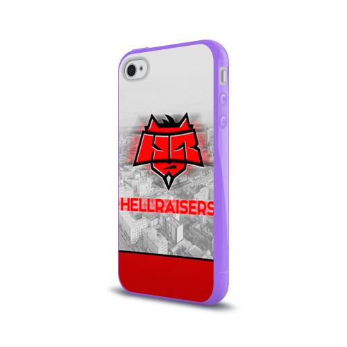 Чехол для Apple iPhone 4/4S силиконовый глянцевый  Фото 03, Hellraisers