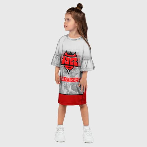 Детское платье 3D  Фото 03, Hellraisers