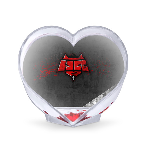 Сувенир Сердце Hellraisers от Всемайки